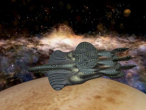 spaceship galaxy science