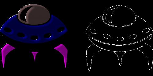 spaceships cosmic retro
