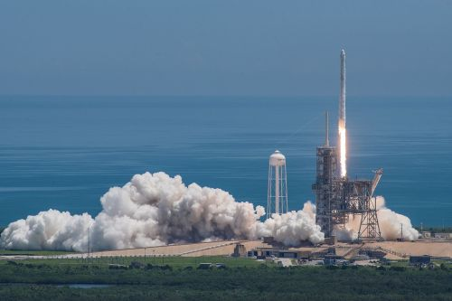 spacex launch space