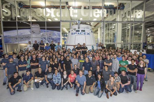 spacex rocket team