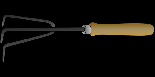 spade tool cultivator