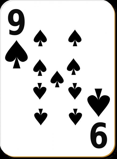 spade 9 nine