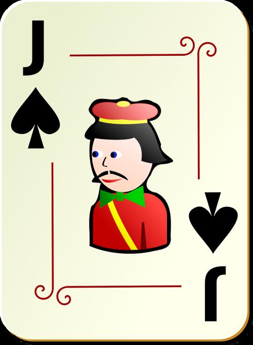 spades jack poker