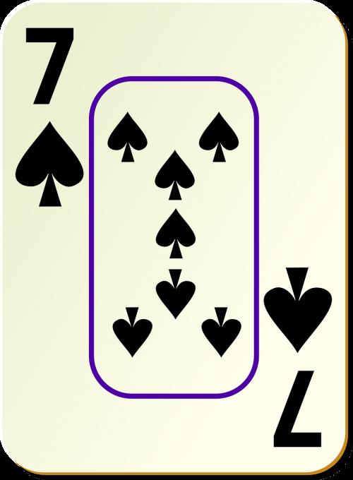 spades seven 7