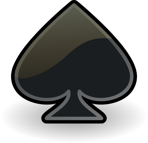 spades black card