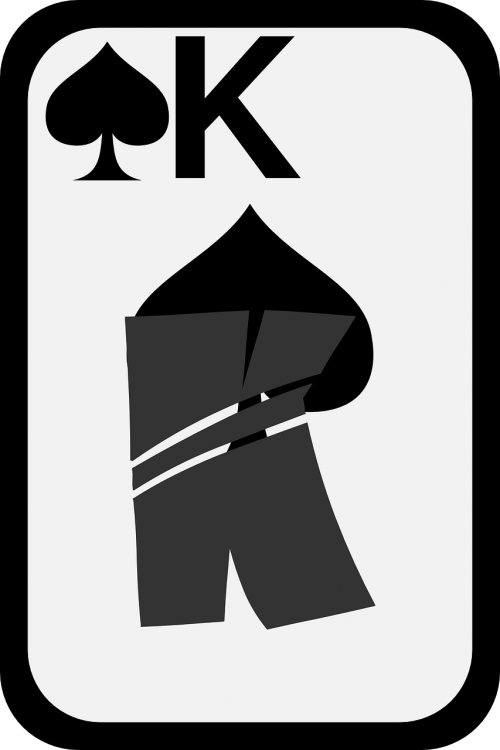 spades card king