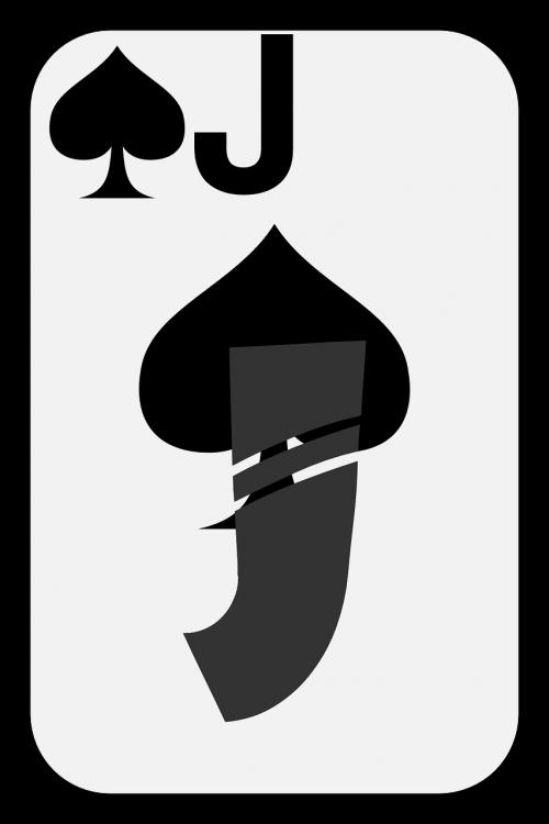 spades card jack