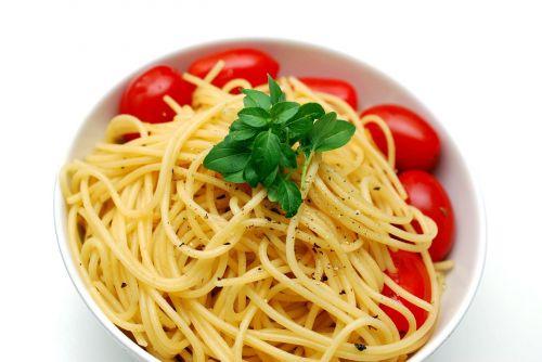 spaghetti pasta cook
