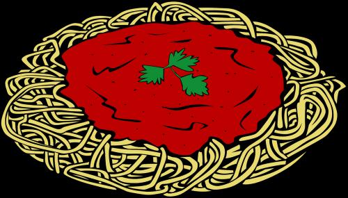 spaghetti spaghetti sauce pasta
