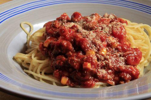 spaghetti bolognese spaghetti noodles