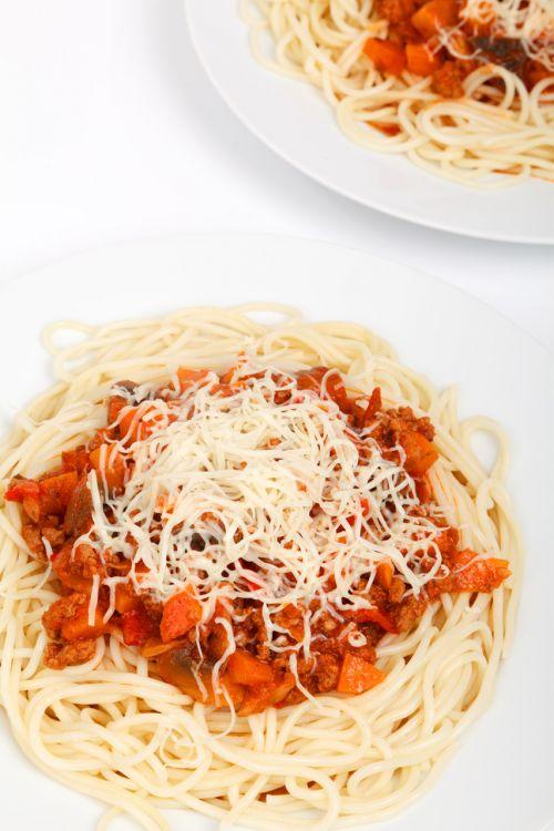 Spaghetti Bolognese Portion