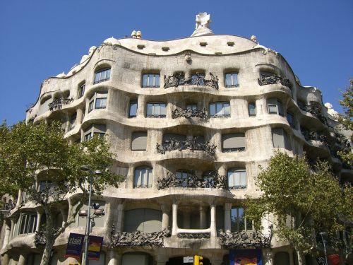 spain barcelona gaudí
