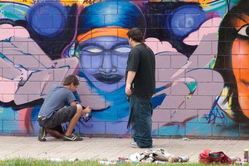 sprayer graffiti spain