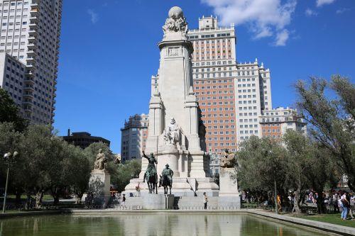 spain don quixote statue