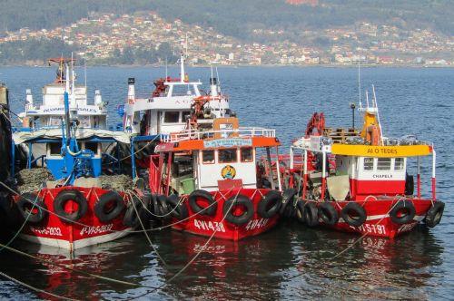 spain galicia boats