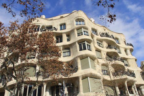 spain barcelona building