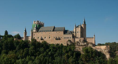 spain segovia castle