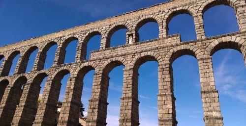 spain segovia aqueduct