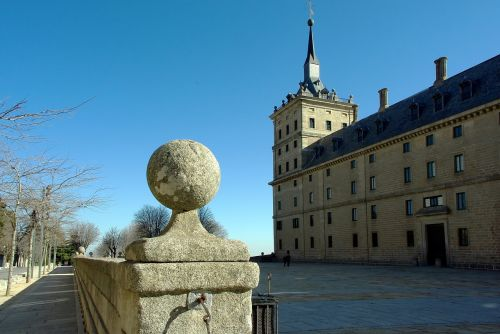 spain escorial castle