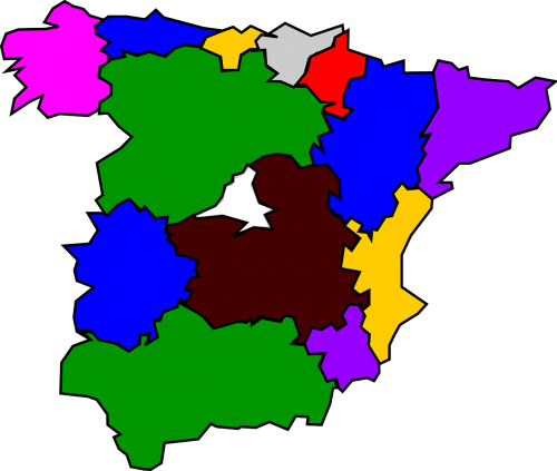 spain country geography