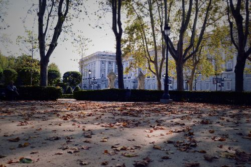 spain madrid cityscape