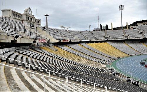 spain  barcelona  stadion