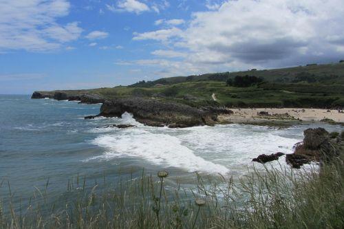 spain asturias sea