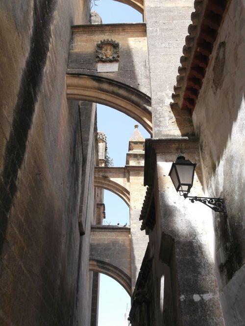 Ispanija,Andalūzija,arkos,miestas,architektūra,arka,arcade,istoriškai,Senamiestis