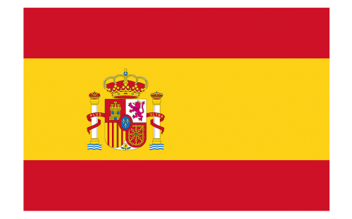 spain yellow red