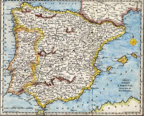 spain portugal mediterranean