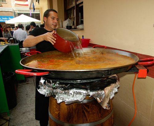 spain paella restaurant