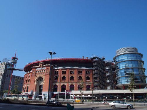spain barcelona bullring