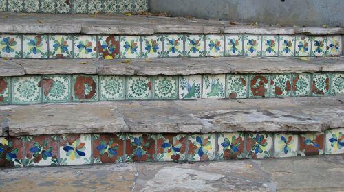 spanish tiles river walk