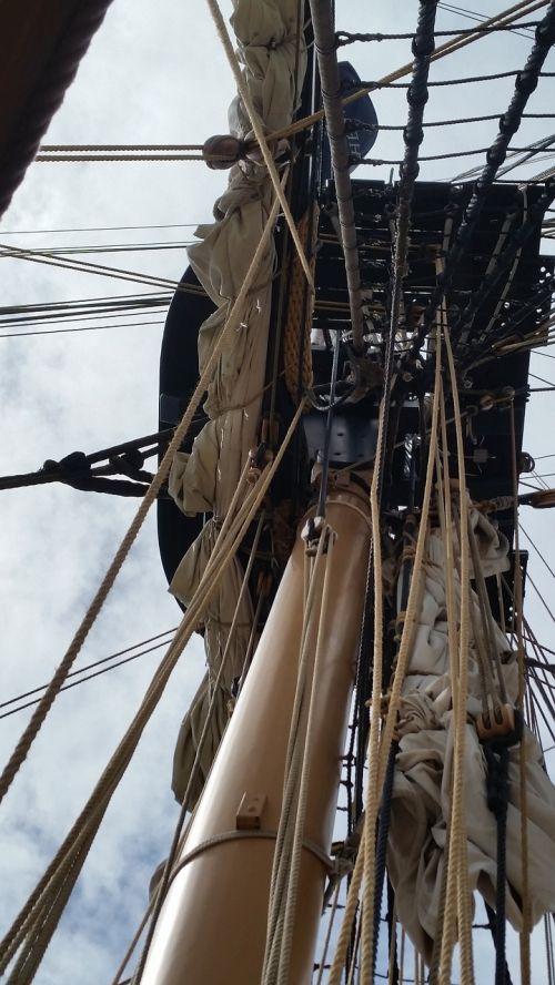 spar ship mast