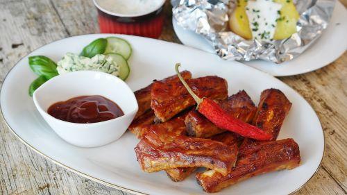 spare ribs grill bbq