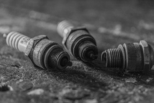spark plugs old used
