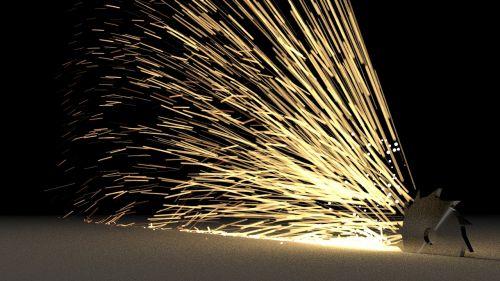 sparkle light saw