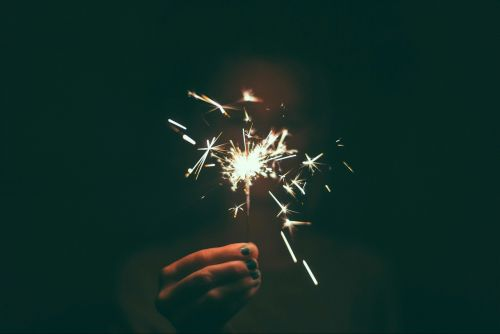 sparkler fireworks july 4th