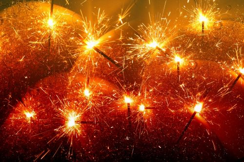 sparklers radio spray