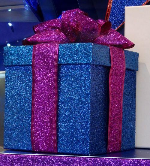 Sparkling Ribbon Gift Present