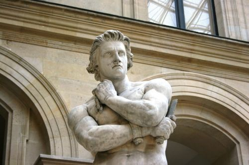 spartacus sculpture louvre