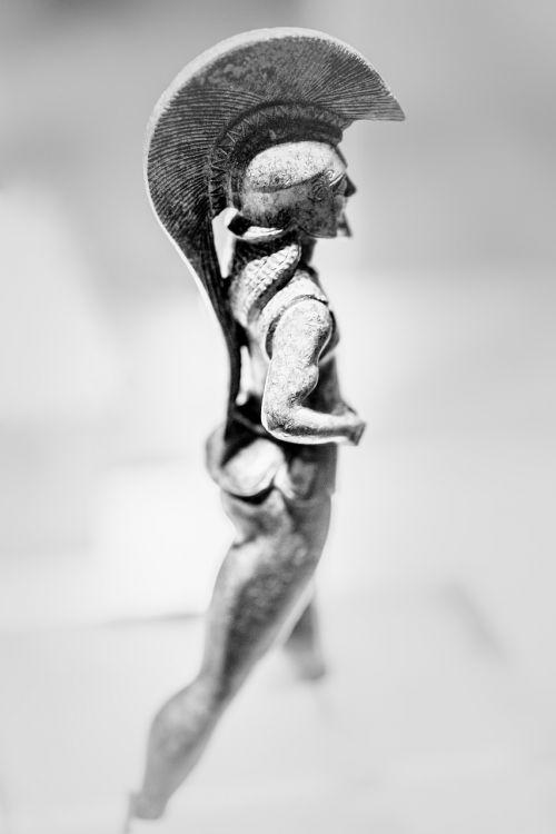 spartan private statuette