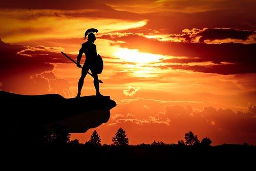 spartan  army  sun
