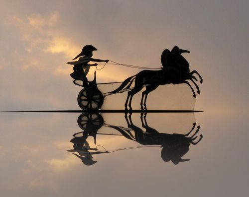 Spartan Charriot Cutout Reflection