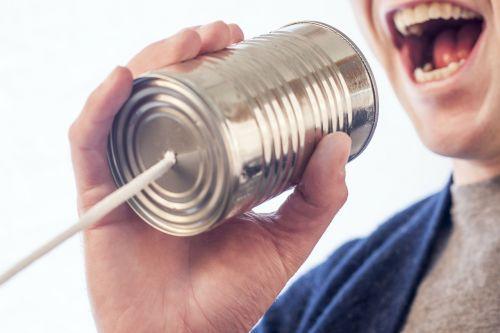 speak talk microphone