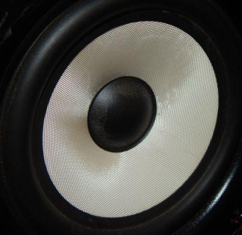 speaker speaker closeup black