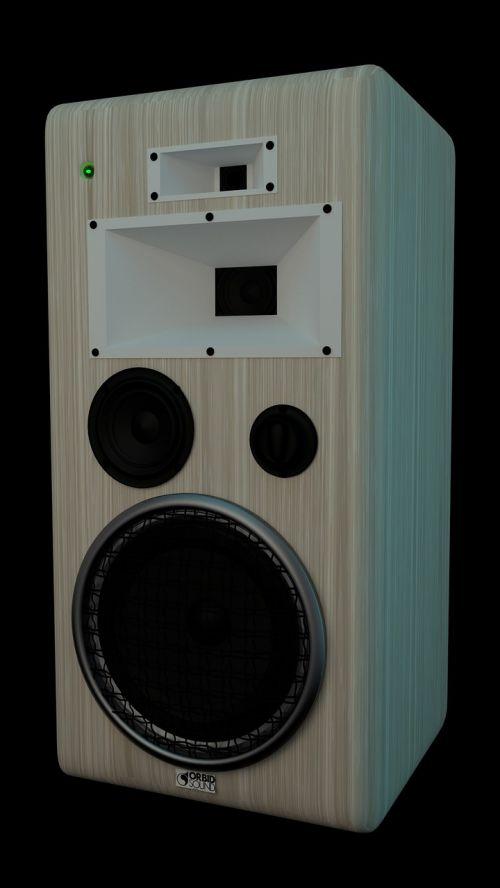 speaker sound music