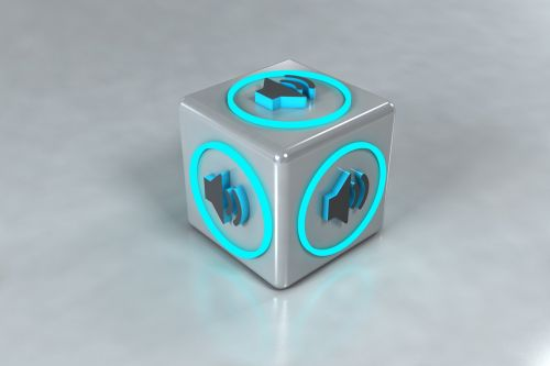 speaker 3d symbol