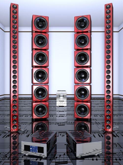 speakers line-array great ls