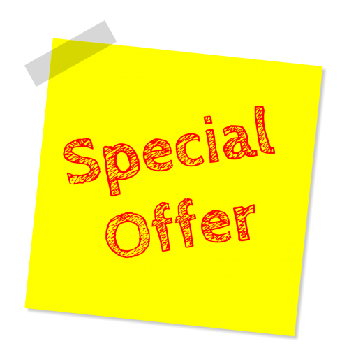 special offer discount offer